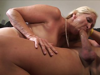 Blonde enjoys another hardcore sex session with horny dude