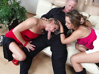 Teen getting down and dirty