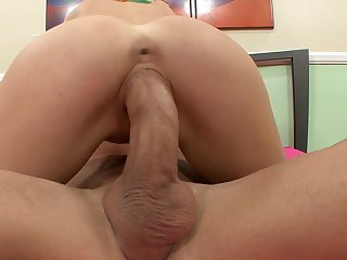 Billy Glide is horny as hell and can't wait any longer to screw incredibly hot Tara White's mouth with his hard love stick
