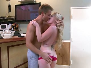 Piercings Shawnie Austin shows off her hot body as she gets her mouth fucked by Levi Cash