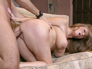 Keiran Lee buries his rock hard ram rod in incredibly hot Darla Crane's butthole