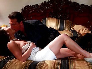 Nick Manning has fantastic oral sex with Brunette Adriana Luna